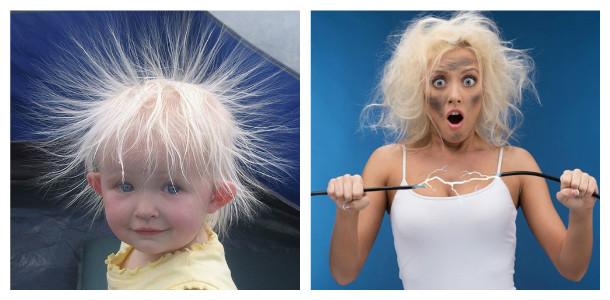 почему электризуются волосы