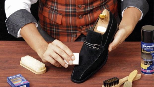 пенка спрей для обуви из замши