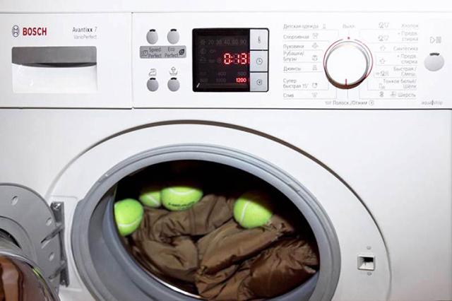как стирать парку в стиральной машине