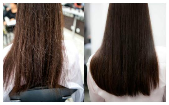 фото полированных волос