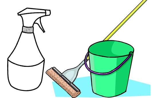 Как и чем мыть ламинат, чтобы не было разводов?