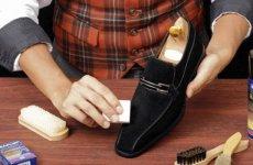 Как почистить замшевую обувь в домашних условиях?
