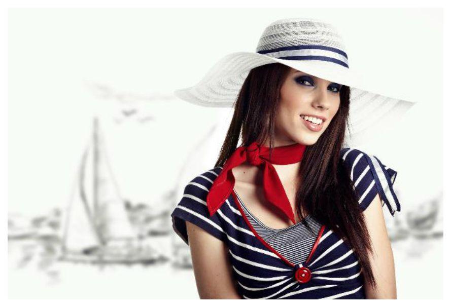 Морской стиль в современной одежде