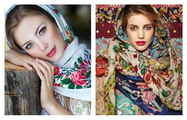 Русский народный стиль в современной одежде