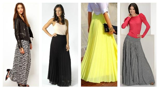 Макси-юбка: мода на все времена