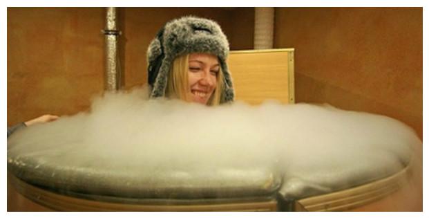 Что такое криосауна? Лечение организма холодом