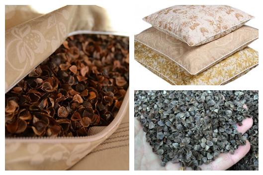 Подушка из гречневой лузги: польза и вред для здоровья