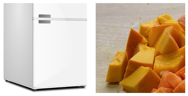 Замораживание тыквы на зиму в морозилке: советы, рецепты, правила