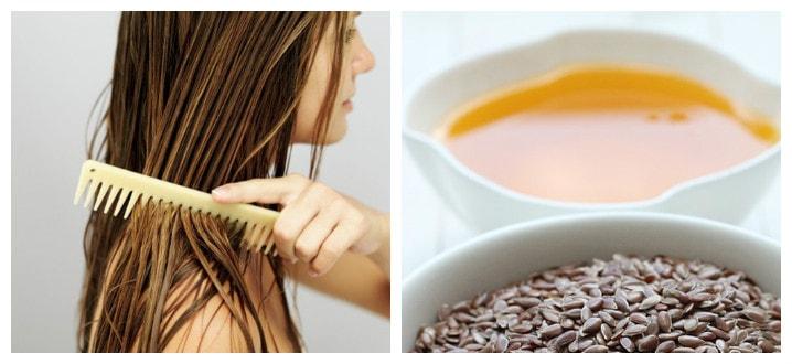 Как применять льняное масло для волос?