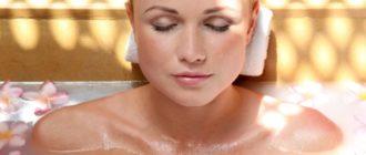 Рецепты антицеллюлитных ванн в домашних условиях