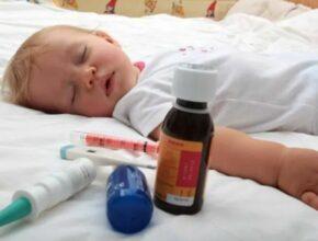 Лечение кишечной инфекции у маленьких детей